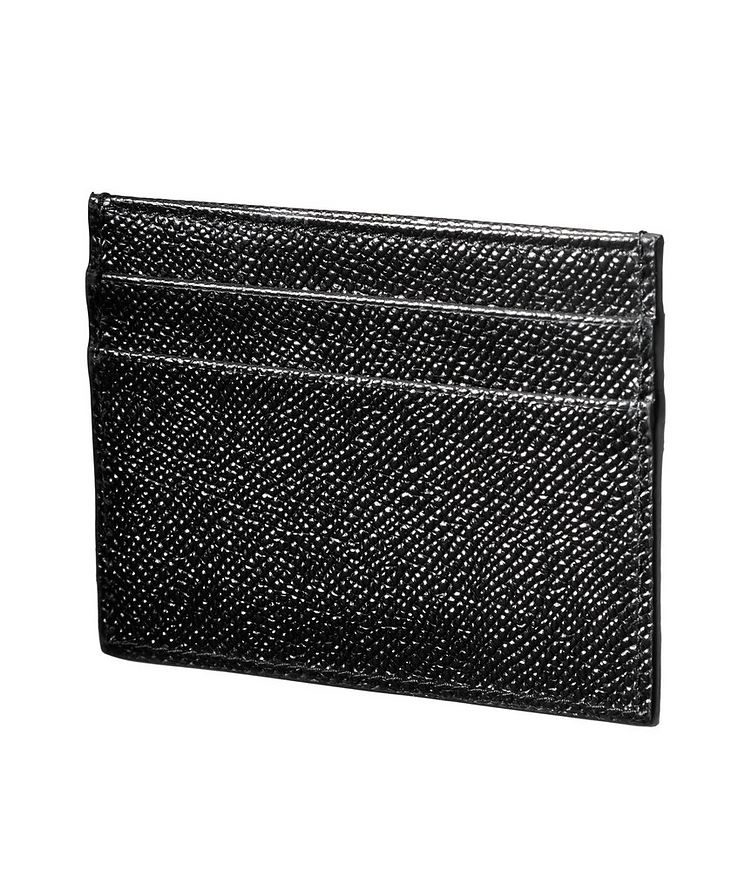 Pebbled Leather Cardholder image 1