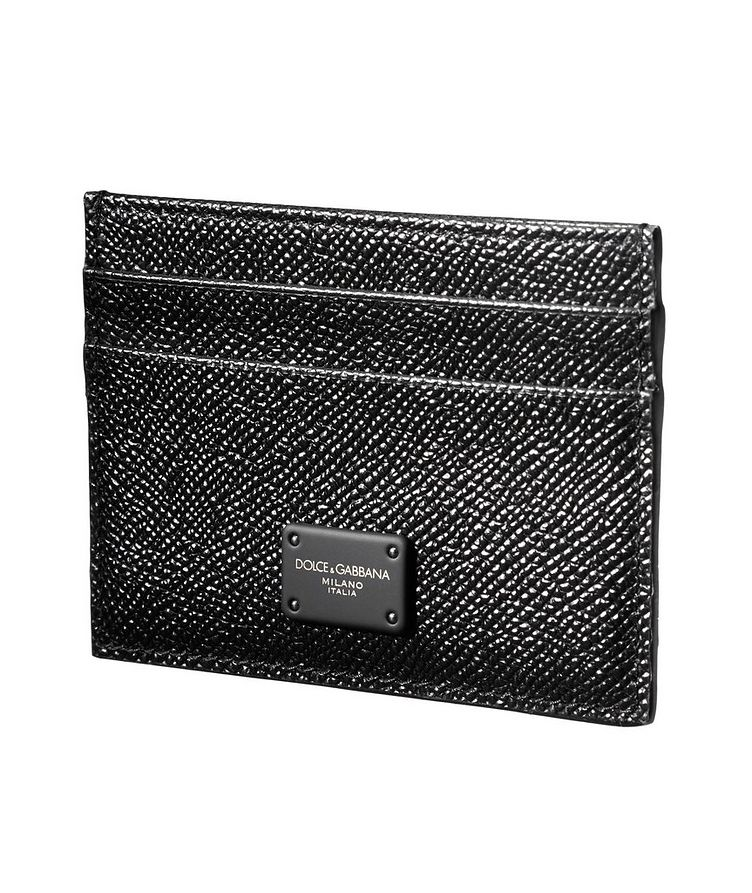 Pebbled Leather Cardholder image 0