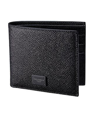 Dolce & Gabbana Portefeuille repliable en cuir,