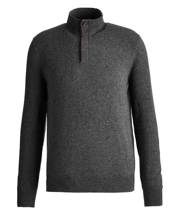 Half-Zip Cashmere Sweater picture 1