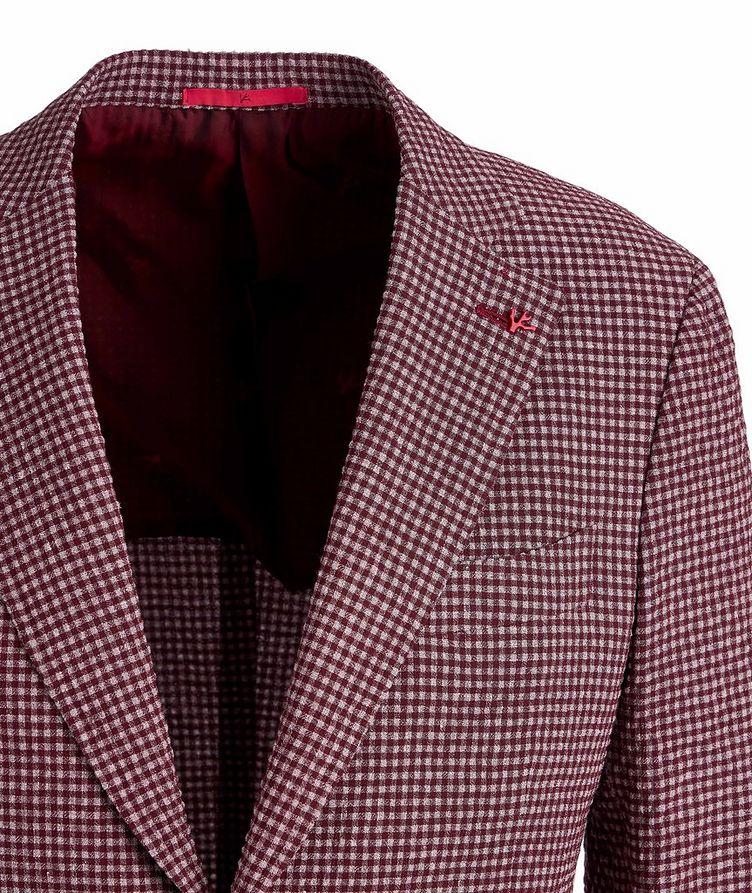 Capri Wool, Linen, and Silk-Blend Sports Jacket image 2