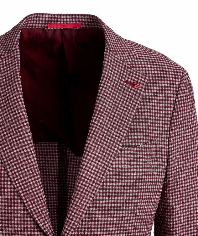 Capri Wool, Linen, and Silk-Blend Sports Jacket picture 3