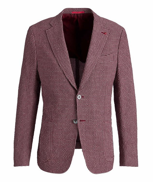 Capri Wool, Linen, and Silk-Blend Sports Jacket picture 1