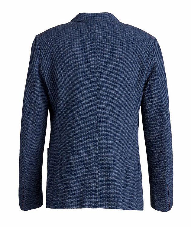 Capri Wool, Linen, and Silk-Blend Sports Jacket picture 2