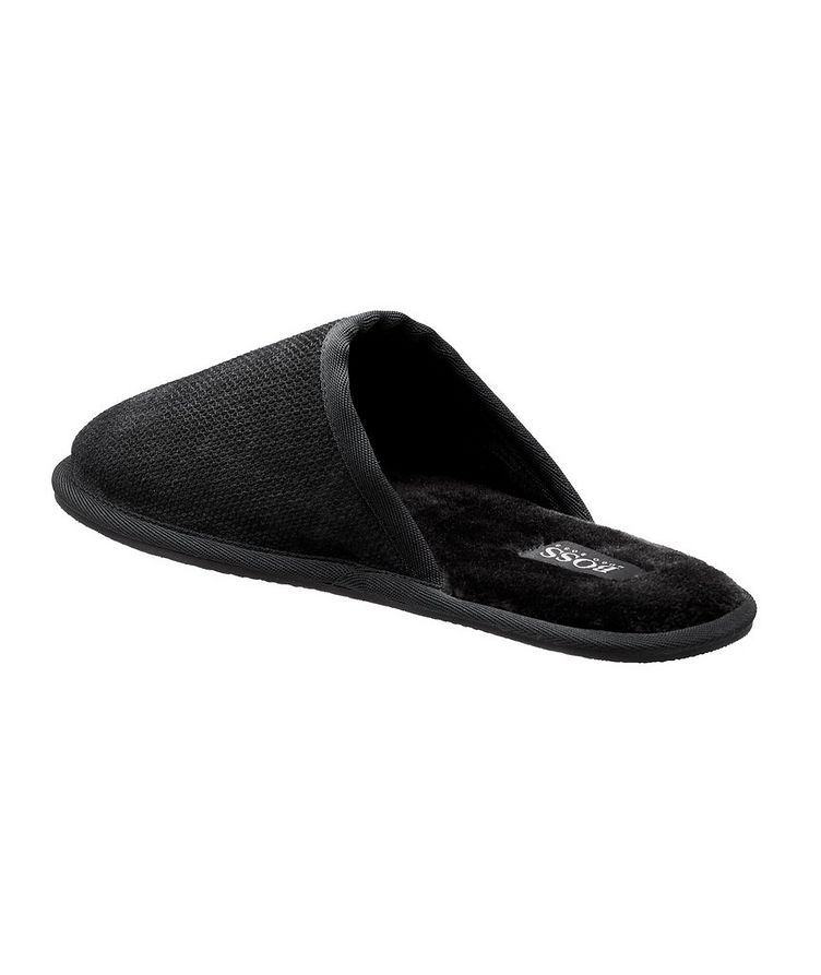 Faux Fur House Slippers image 1