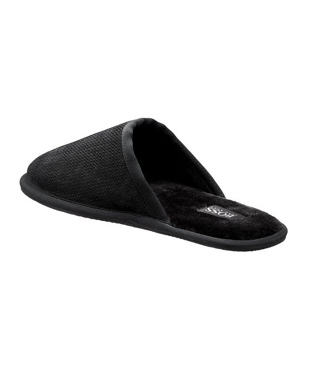Faux Fur House Slippers picture 2