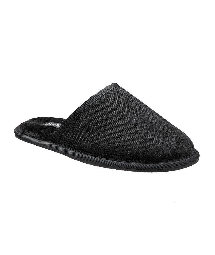 Faux Fur House Slippers image 0