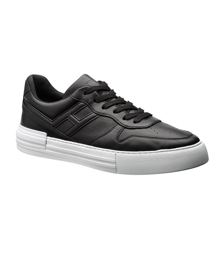 Rebel Leather Sneakers image 0
