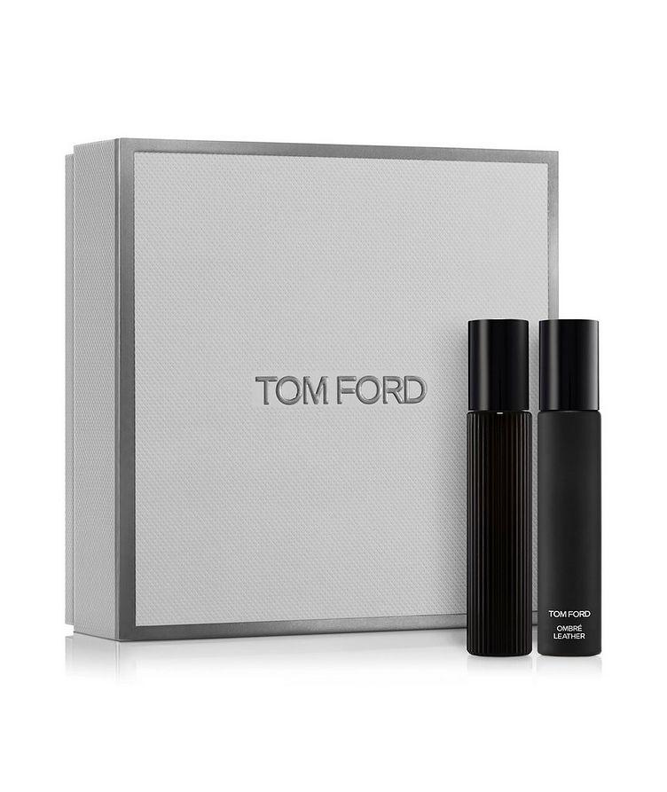 Black Orchid and Ombré Leather Eau de Parfum Travel Spray Set image 0