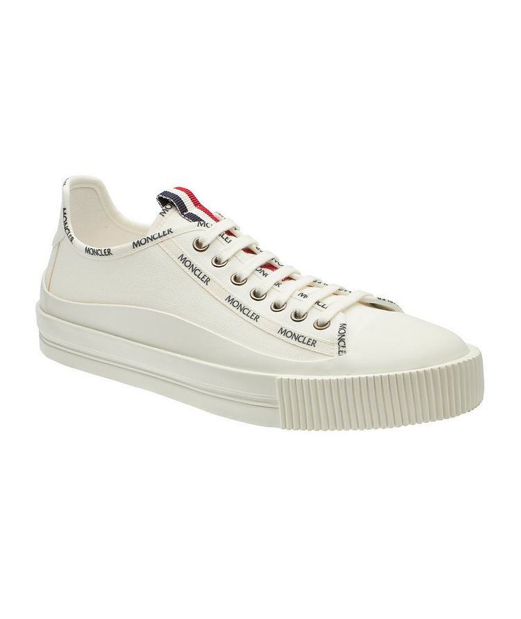 Glissiere Canvas Sneakers image 0