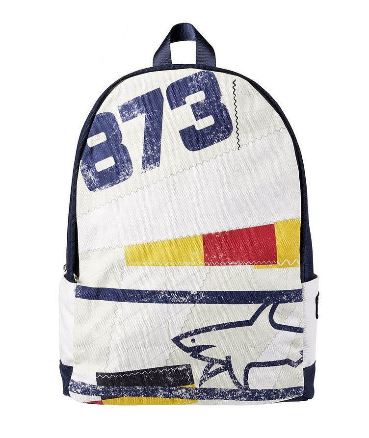 Printed Cotton Backpack image 0