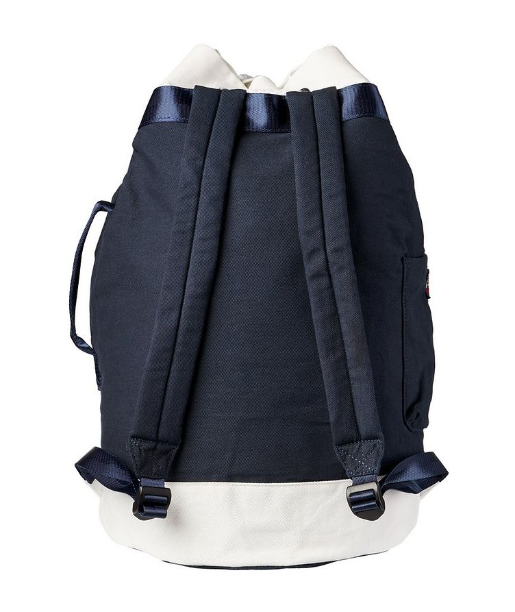 Printed Cotton Sailing Backpack image 1