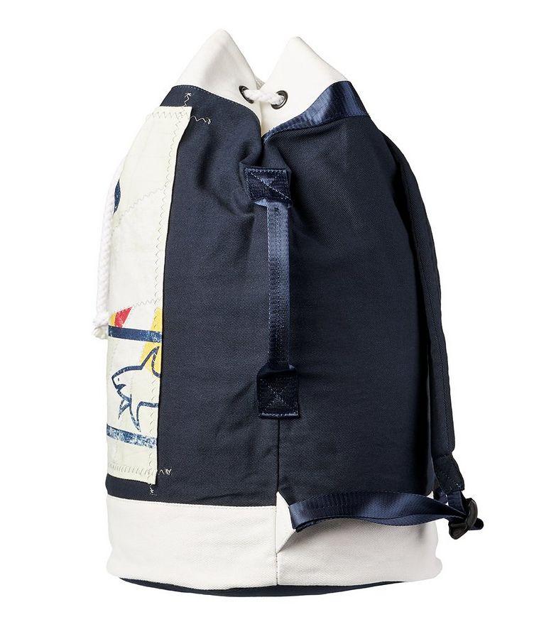 Printed Cotton Sailing Backpack image 2