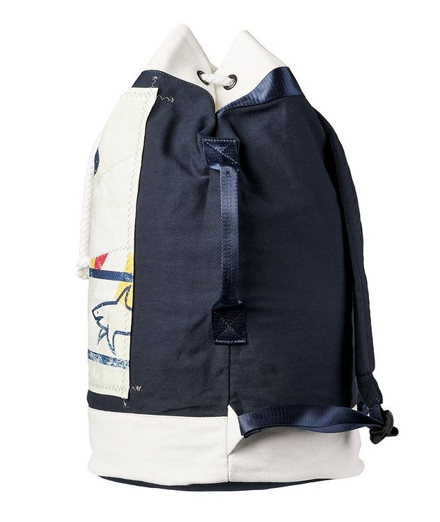 Printed Cotton Sailing Backpack picture 3