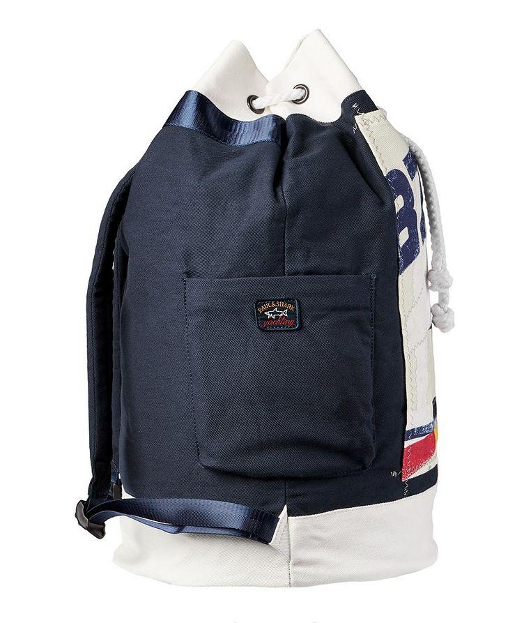 Printed Cotton Sailing Backpack image 3