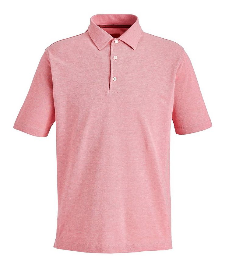 Piqué Cotton Polo image 0