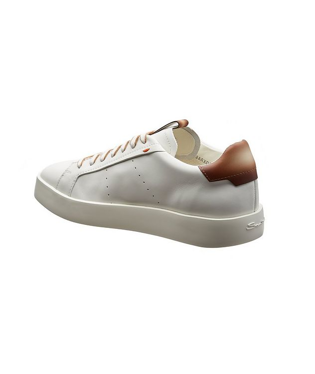 Calfskin Low-Top Sneakers picture 2