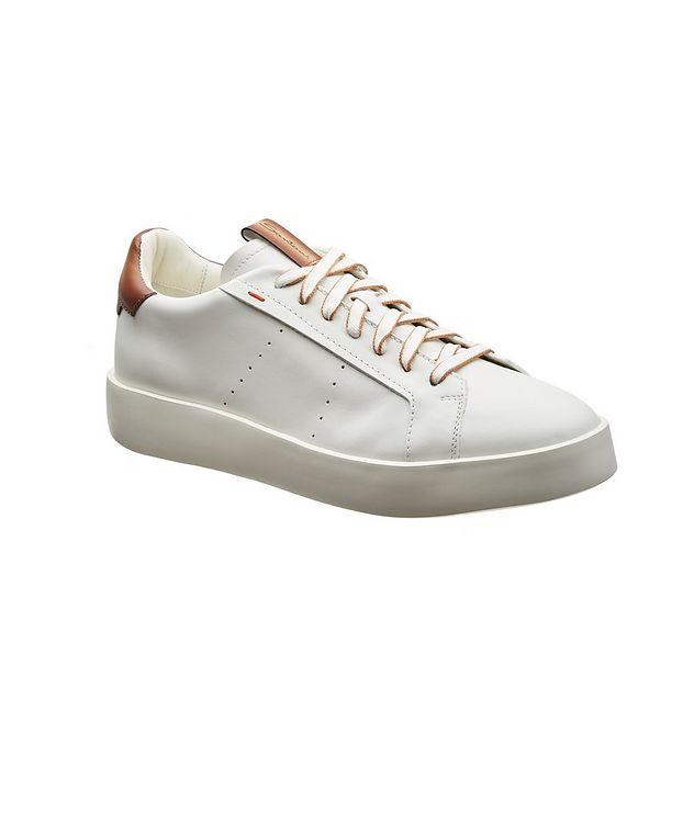 Calfskin Low-Top Sneakers picture 1