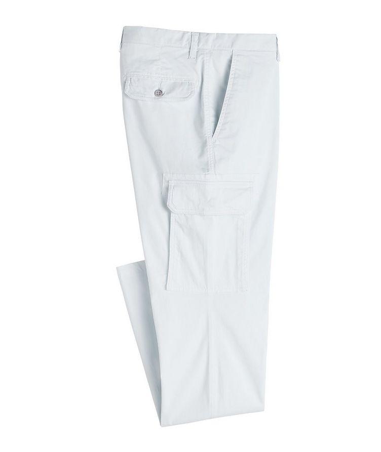 Slim Fit Stretchy-Cotton Cargo Pants image 0