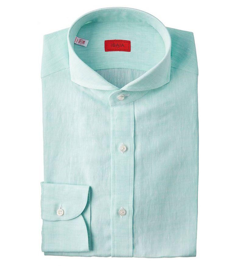 Contemporary-Fit Linen Shirt image 0