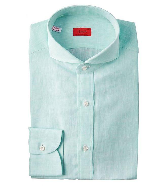 Contemporary-Fit Linen Shirt picture 1