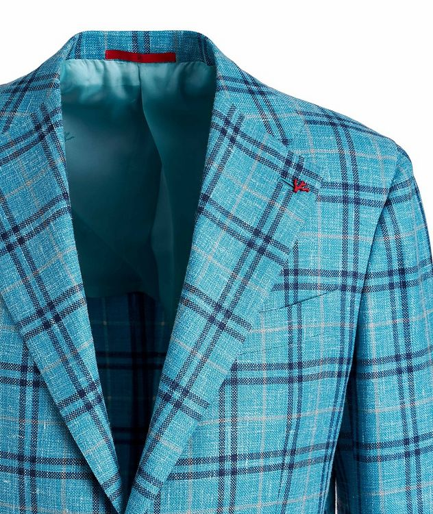 Marechiaro Wool, Silk, and Linen-Blend Sports Jacket picture 3