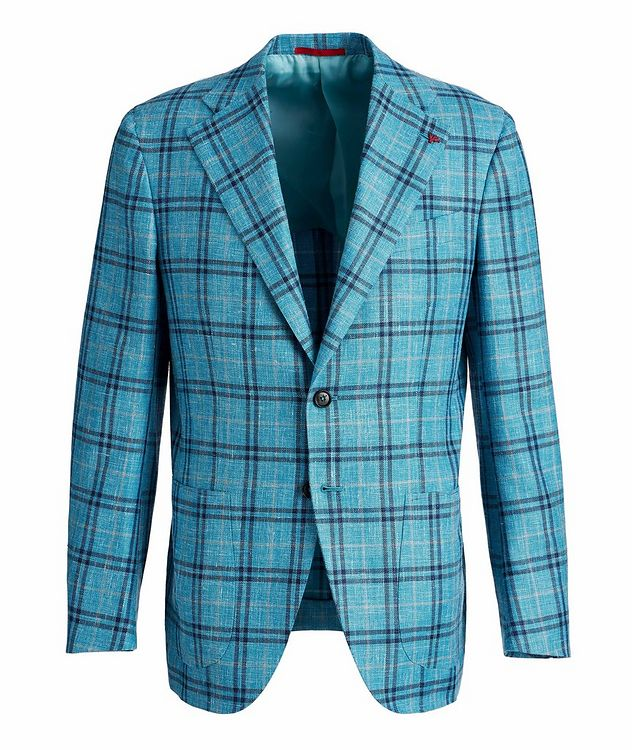 Marechiaro Wool, Silk, and Linen-Blend Sports Jacket picture 1