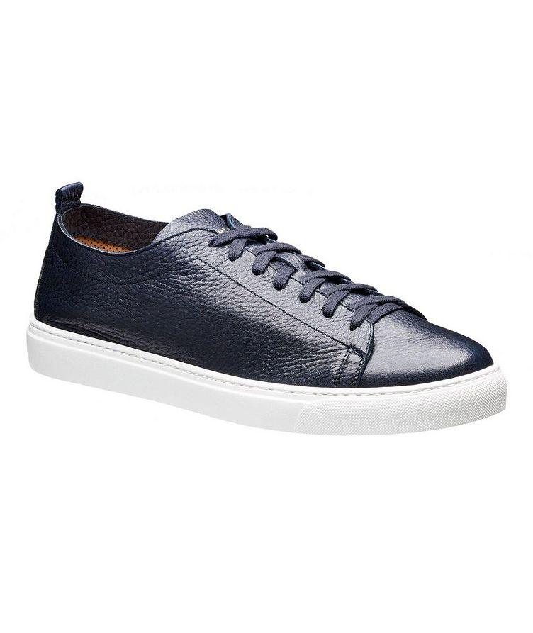 Deerskin Low-Top Sneakers image 0