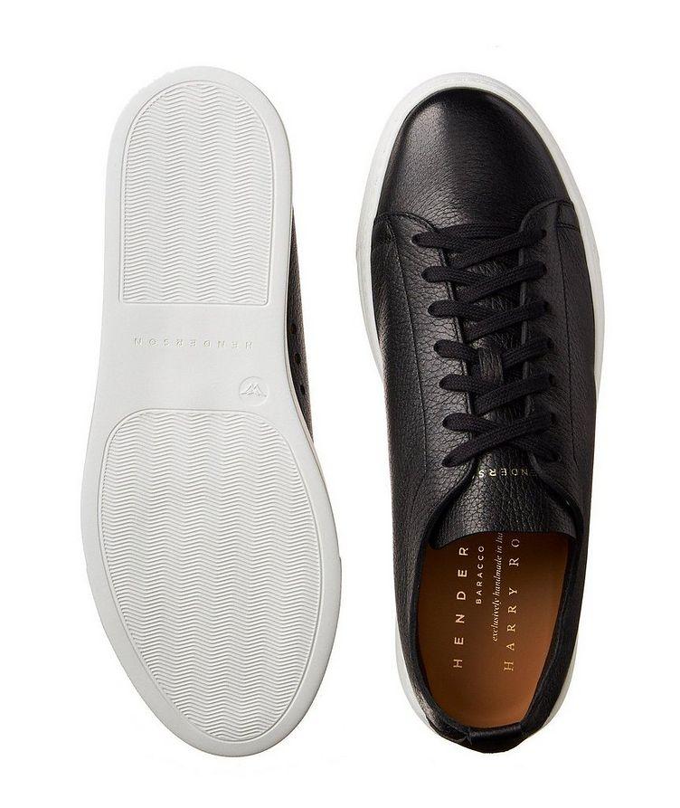Chaussure sport en cuir de chevreuil image 2