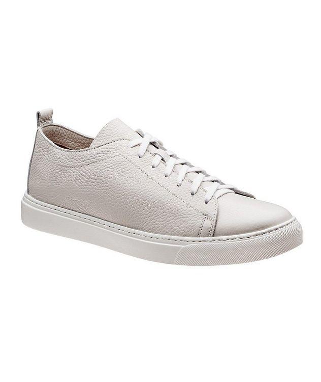 Deerskin Low-Top Sneakers picture 1