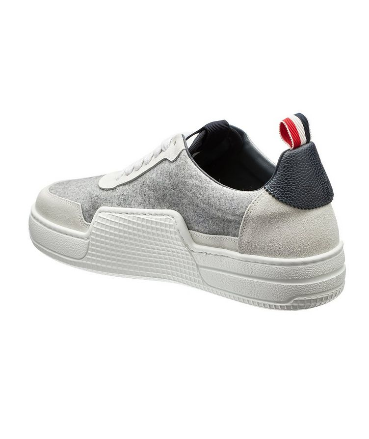 Basketball Low-Top Flannel Sneakers image 1