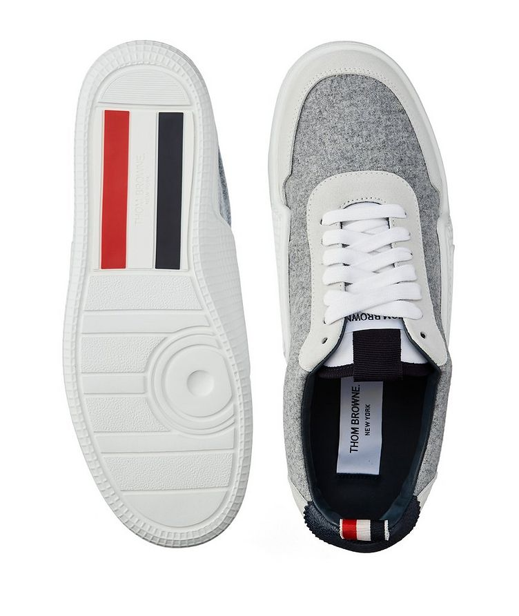 Basketball Low-Top Flannel Sneakers image 2