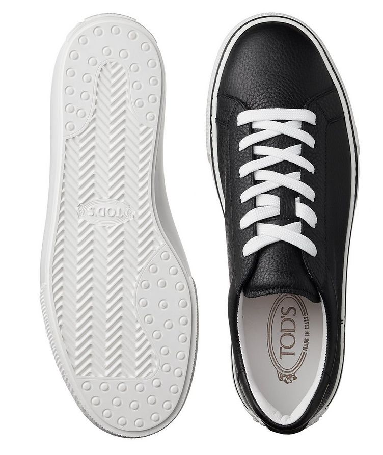 Leather Low-Top Sneakers image 2