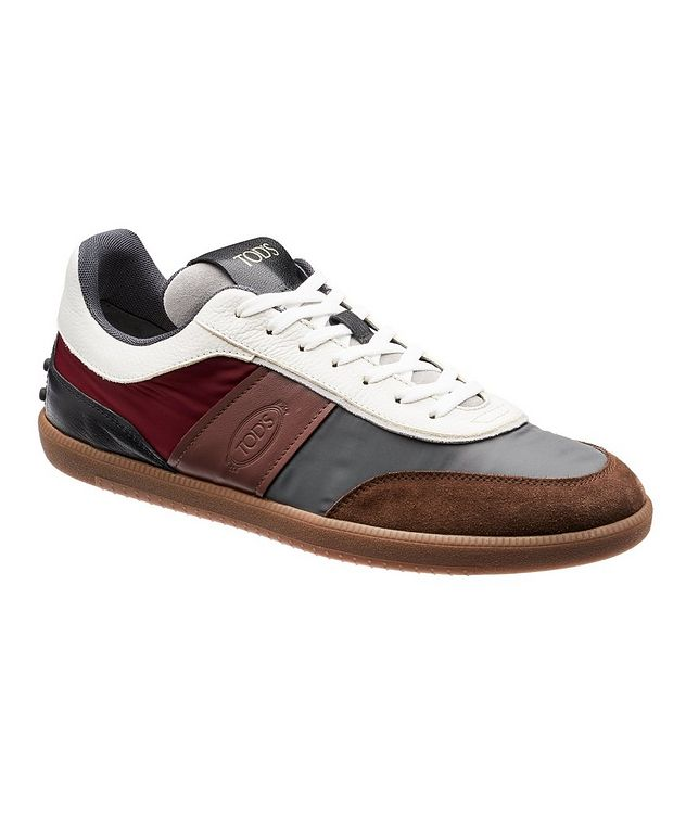 Leather & Suede Sneakers picture 1