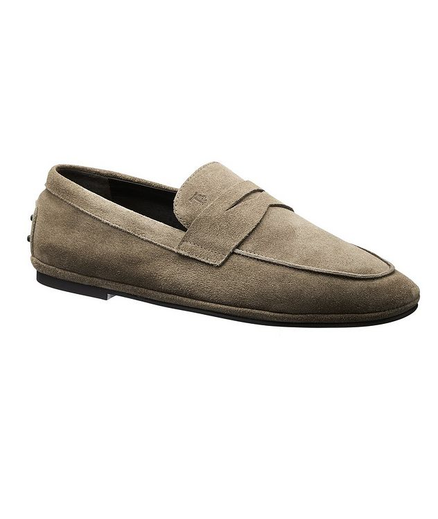 Suede Slip-On Loafers picture 1