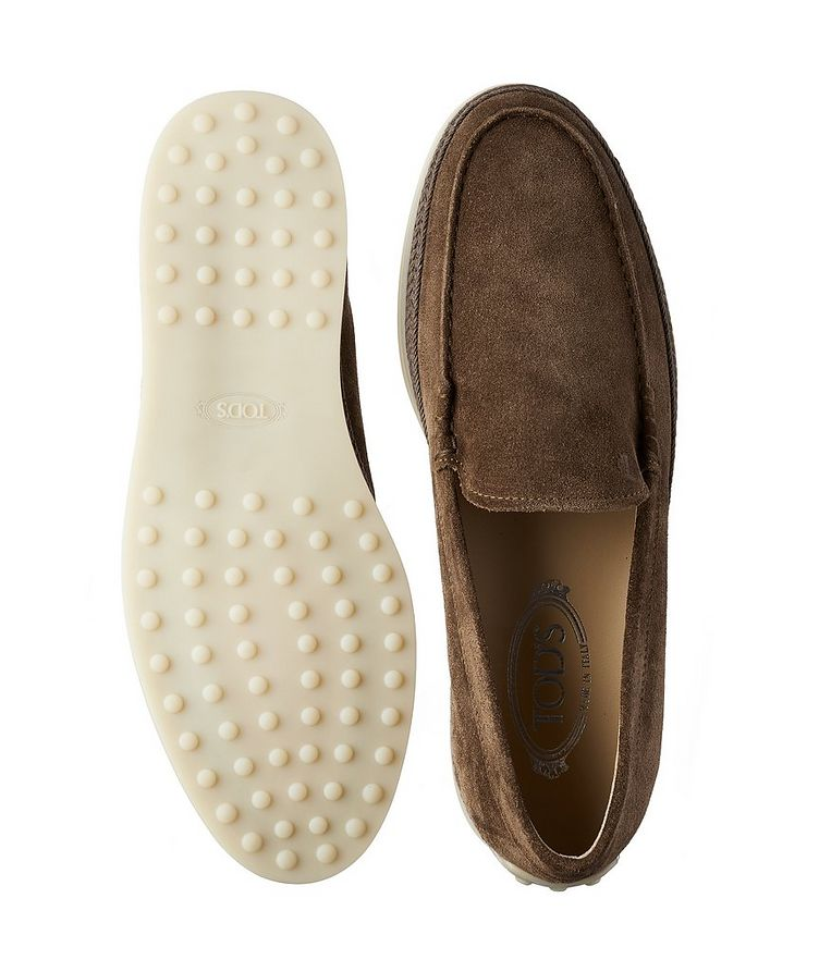 Suede Slip-On Loafers image 2
