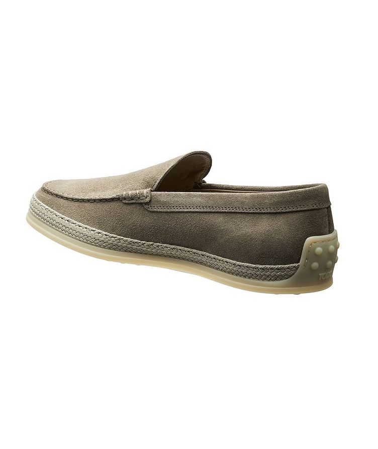 Suede Slip-On Loafers image 1