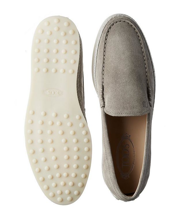 Suede Slip-On Loafers picture 3
