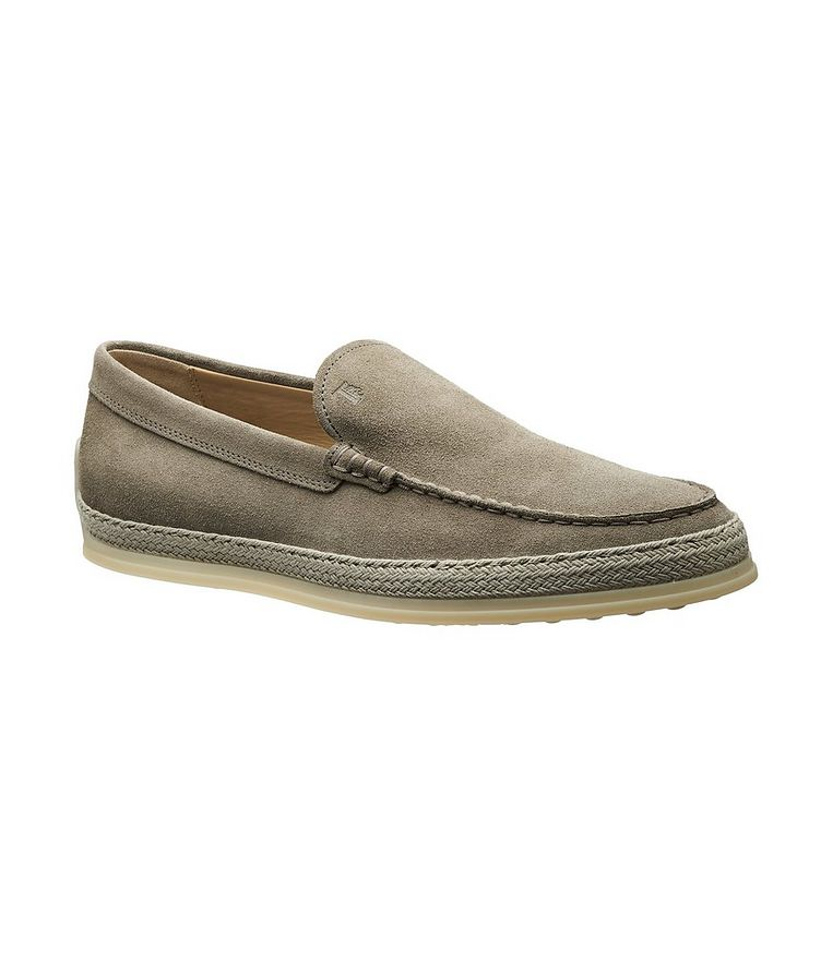 Suede Slip-On Loafers image 0