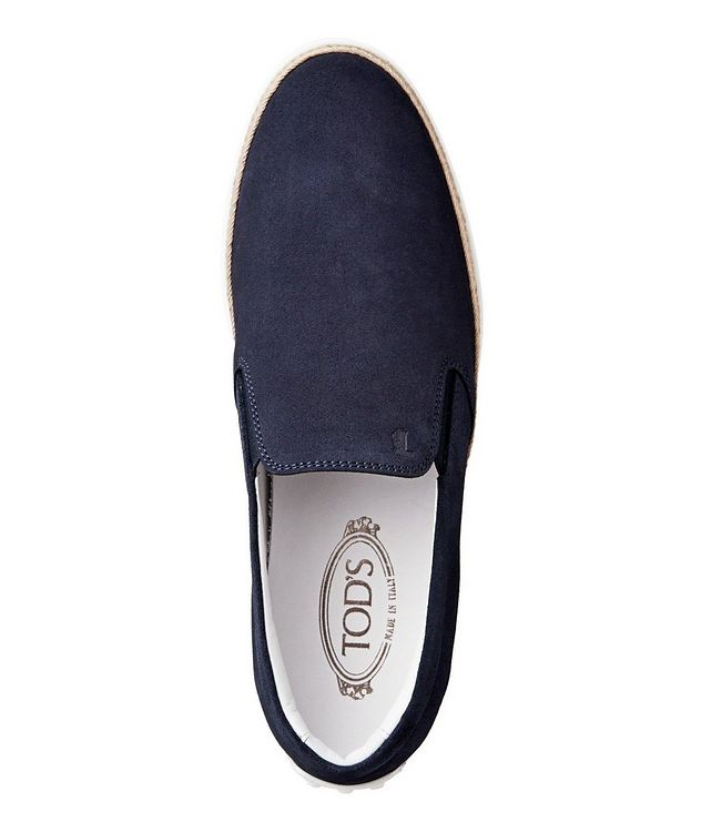 Suede Espadrille Slip-Ons picture 3