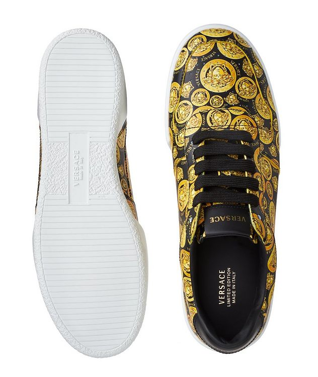 Ilus Medusa Amplified Leather Sneakers picture 3