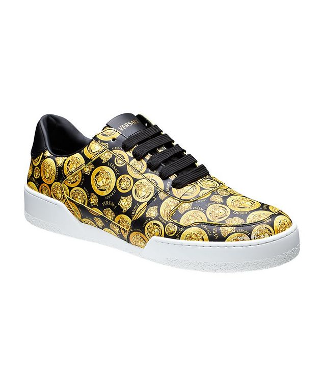 Ilus Medusa Amplified Leather Sneakers picture 1