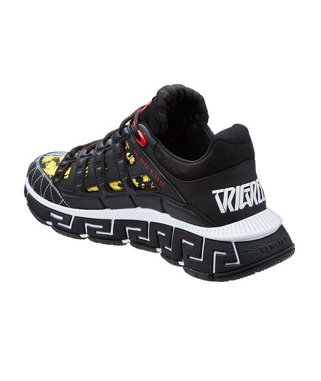 Trigreca Barocco Multi-Texture Sneakers picture 2