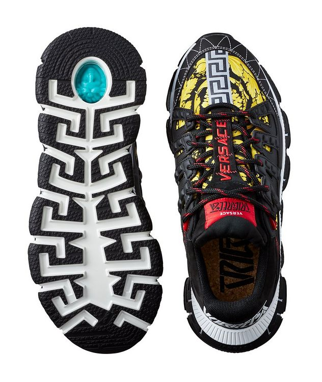 Trigreca Barocco Multi-Texture Sneakers picture 3