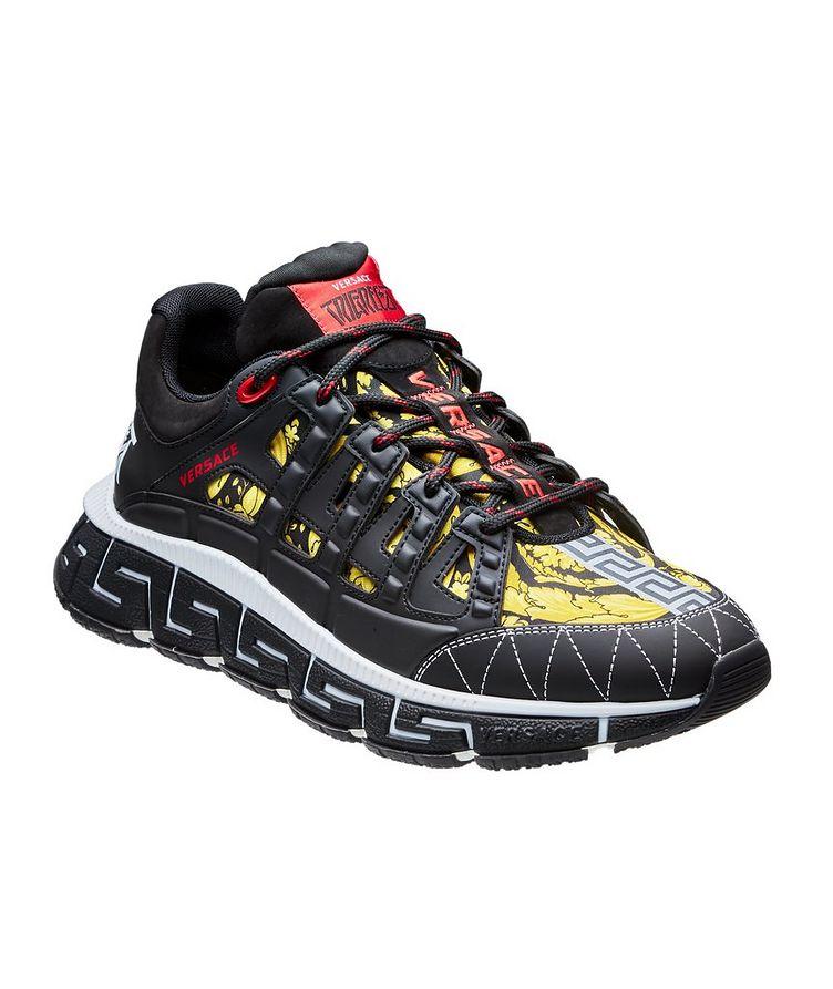 Trigreca Barocco Multi-Texture Sneakers image 0