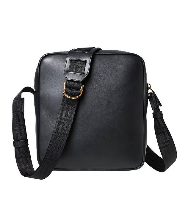 Medusa Leather Messenger Bag picture 2