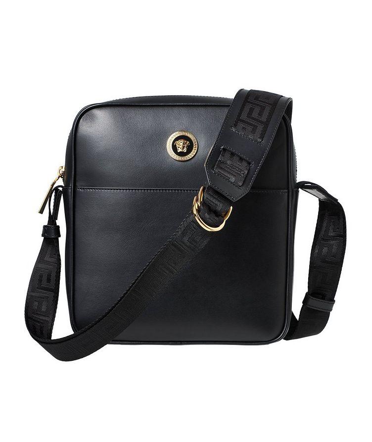 Medusa Leather Messenger Bag image 0