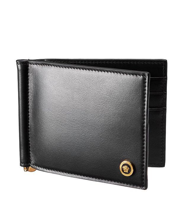 Medusa Calfskin Bifold Wallet with Money Clip picture 1
