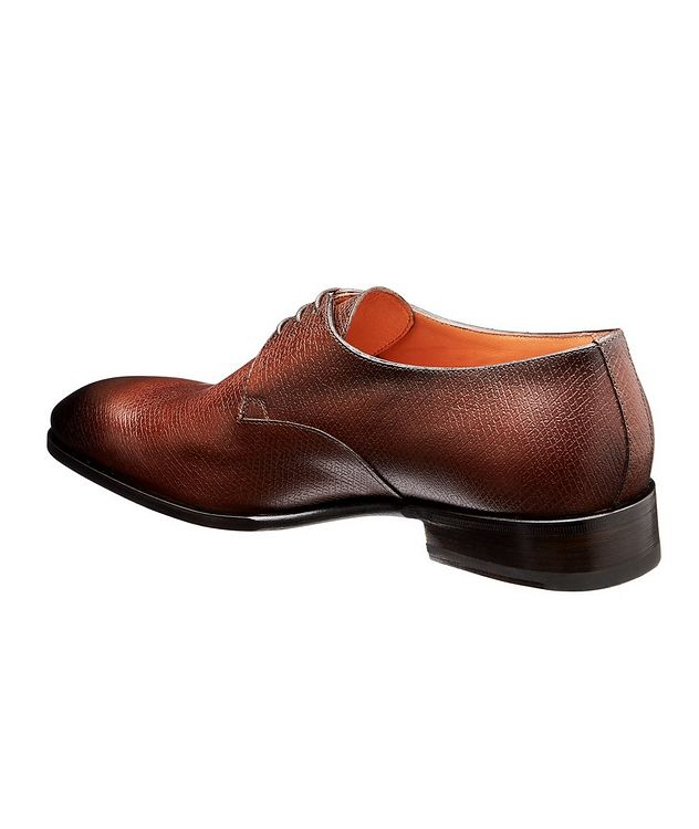 Textured Leather Derbies picture 2