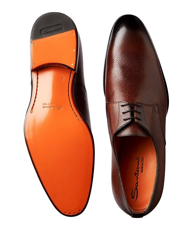 Textured Leather Derbies picture 3